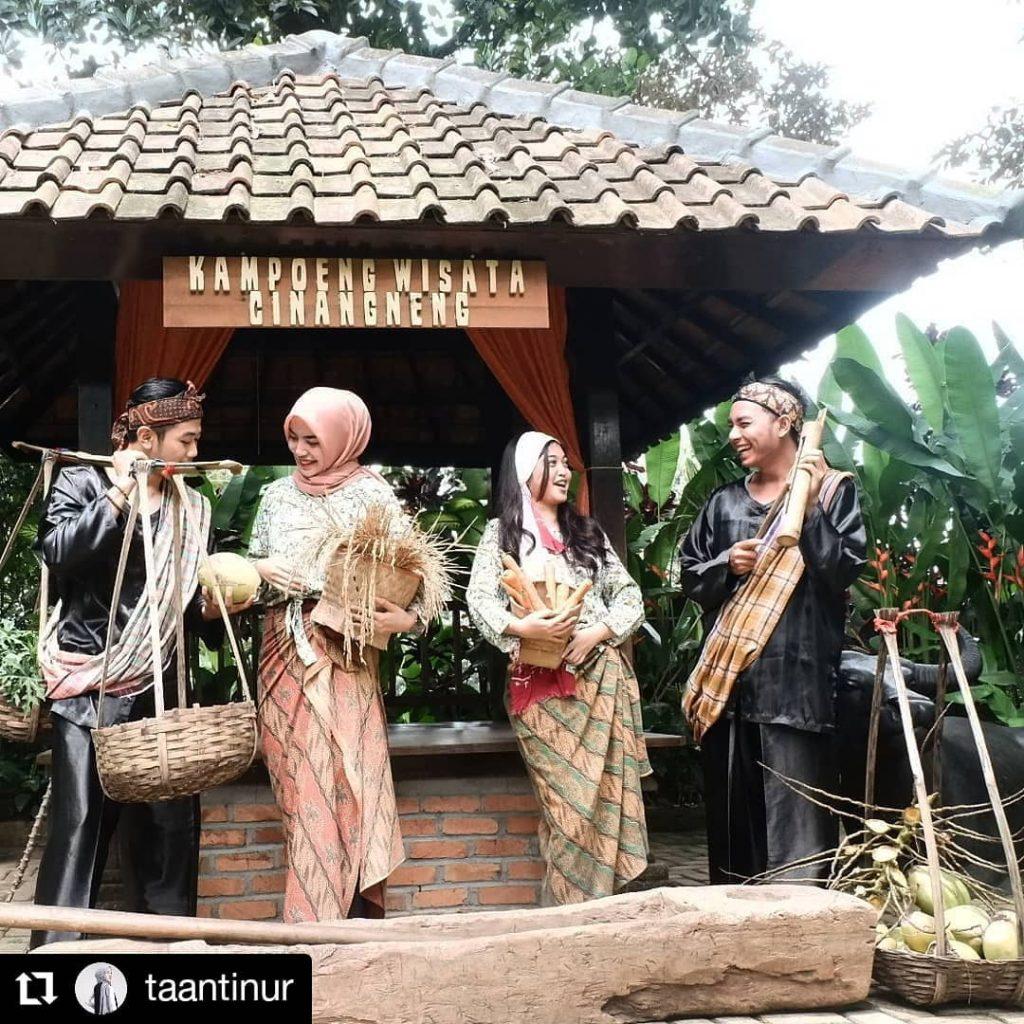 8 Spot Foto di Kampoeng Wisata Cinangneng yang Lagi Hits 8